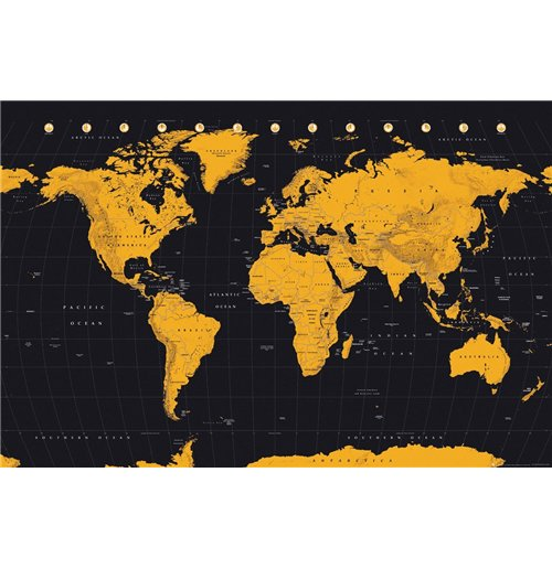 Pster world map 257914 por tan slo 425 en merchandisingplaza pster world map 257914 gumiabroncs Gallery