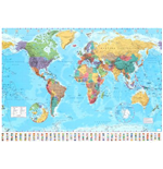 Póster World map 257918