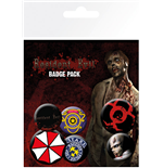 Pack Chapitas Resident Evil - Mix