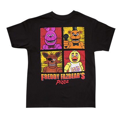 Camiseta Five Nights at Freddy's de chicos