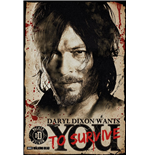 Póster The Walking Dead - Daryl Needs You - 61 x 91,5 cm