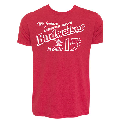 Camiseta Budweiser Old School