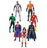 DC Rebirth Justice League Pack de 7 Figuras 18 cm