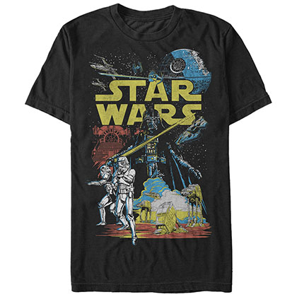 Camiseta Star Wars Rebel Classic