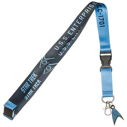 Lanyard Star Trek