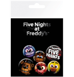 Pack Chapitas Five Nights at Freddy's - Mix