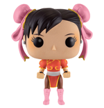 Street Fighter POP! Games Vinyl Figura Chun-Li (Red Outfit) 9 cm
