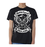 Camiseta Motorhead Crossed Swords England Crest