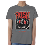 Camiseta Rush World a Stage Tour 1977