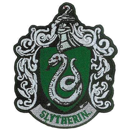 Parche Harry Potter Slytherin Logo