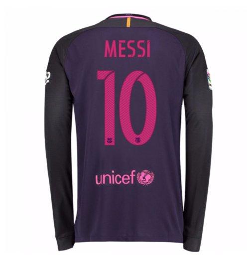 3361ed5c8b8 Compra Camiseta FC Barcelona 2016-2017 Away (Messi 10) Original