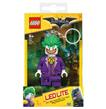 Lego Batman Movie Linterna Eléctrica con llavero Joker