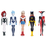 The New Batman Adventures Pack de 5 Figuras Girls Night Out 14 cm