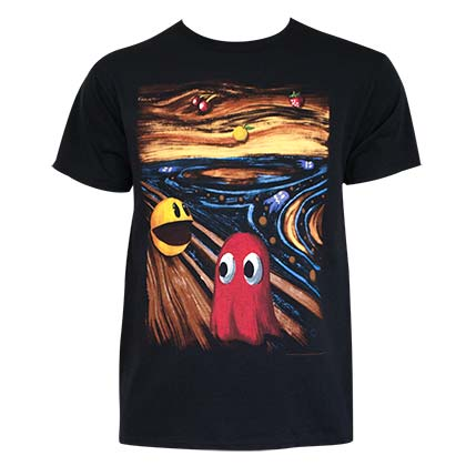 Camiseta Pac-Man Horror Art