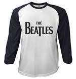 Camiseta The Beatles - Raglan Baseball Drop T Logo