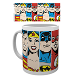 Taza Superhéroes DC Comics - Faces