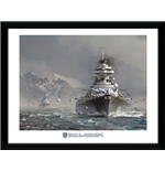 Póster Enmarcado World of Warships - Bismark