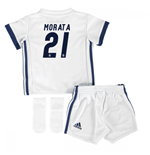 Mini conjunto Real Madrid 2016-2017 Home (Morata 21)