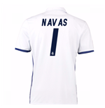 Camiseta Real Madrid 2016-2017 Home (Navas 1) de niño