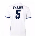 Camiseta Real Madrid 2016-2017 Home (Varane 5)