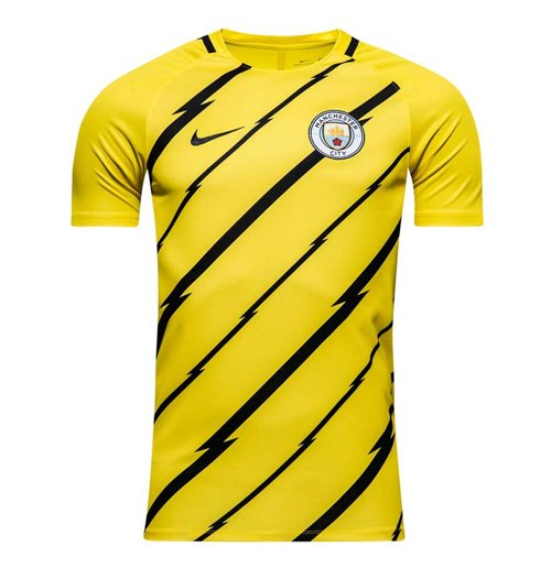 Compra Camiseta entrenamiento Manchester City FC 2016-2017 (Amarillo) 8d764c2ea833e