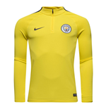 Camiseta manga larga Manchester City FC 2016-2017 (Amarillo)