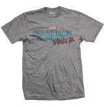 Camiseta Guardians of the Galaxy Vol. 2 Vintage Colour Logo