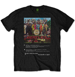 Camiseta The Beatles - Sgt Pepper 8 Track