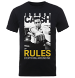 Camiseta Johnny Cash 261375