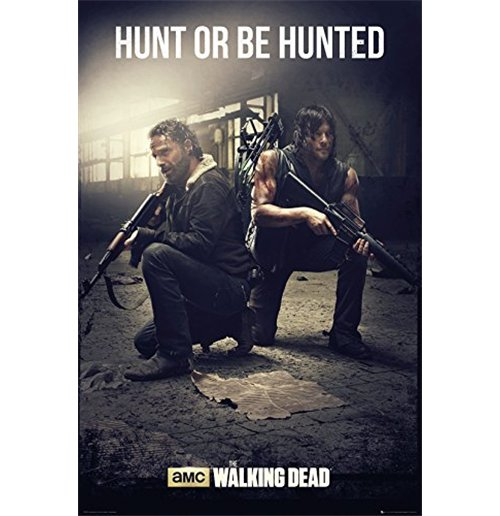 Póster The Walking Dead The Walking Dead - Hunt Maxi Poster (61x91,5 Cm).
