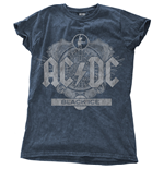 Camiseta AC/DC - Black Ice Blu