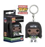 NFL Llavero Pocket POP!  Vinyl Richard Sherman (Seattle Seahawks) 4 cm