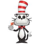 Dr. Seuss POP! Books Vinyl Figura Cat In The Hat (Fish Bowl) 9 cm