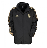 Chubasquero Real Madrid 2011-2012 (Negro)