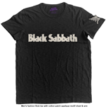 Camiseta Black Sabbath de hombre - Design: Logo & Daemon
