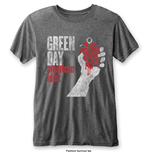 Camiseta Green Day de hombre - Design: American Idiot Vintage