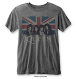 Camiseta Queen Vintage Union Jack