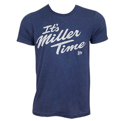 Camiseta Miller Beer It's MILLER Time