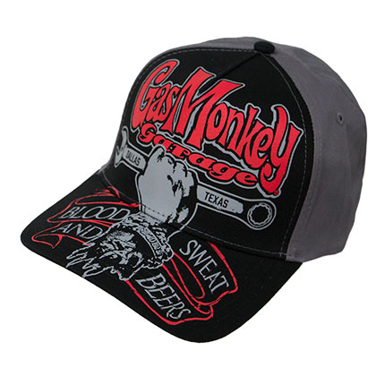 Gorra Gas Monkey Garage Texas Automobile