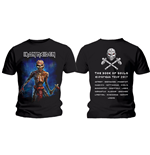 Camiseta Iron Maiden Axe Eddie Book of Souls European Tour (Version 2)