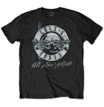 Camiseta Guns N' Roses  Not in this Lifetime Tour Xerox
