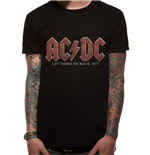 Camiseta AC/DC - Vintage Let There Be Rock