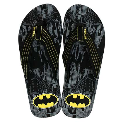 Chanclas Batman City Print