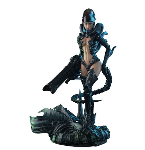 Alien vs Predator Figura Hot Angel 1/6 Alien Girl 29 cm