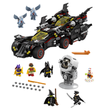 The LEGO® Batman Movie™ Batmóvil mejorado