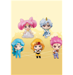 Sailor Moon Petit Chara Pretty Guardian Pack de 5 Figuras Sailor Moon SuperS 6 cm