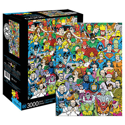 Puzzle Superhéroes DC Comics