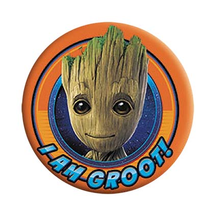 Pin Guardians of the Galaxy Groot Orange