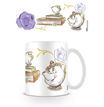 La Bella y la Bestia Taza Chip Enchanted