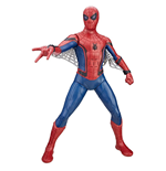 Spider-Man De Regreso a Casa Figura Titan Hero Tech Suit Spider-Man 38 cm - Edición Alemán